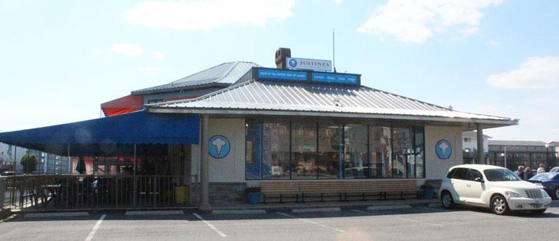 Justine's, Ocean City at 123rd & Coastal Highway