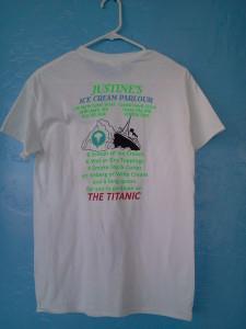 The Titanic T-shirt (back)