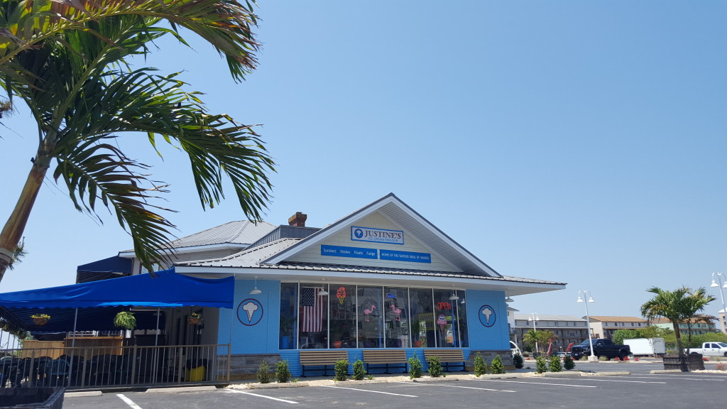 Justine's The Best Ice Cream In Ocean City MD