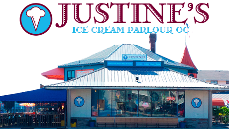 JUSTINE'S Ice Cream Parlour, Ocean City, MD