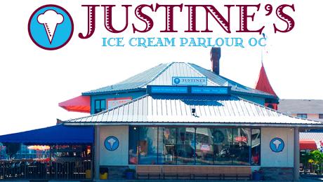 JUSTINE'S Ice Cream Parlour, Ocean City, MD